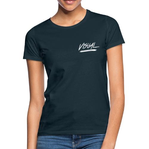 VISUAL White Logo - Women's T-Shirt