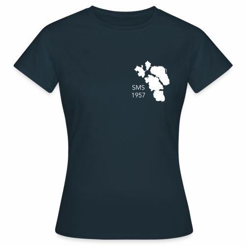 sms logo 60v - Naisten t-paita