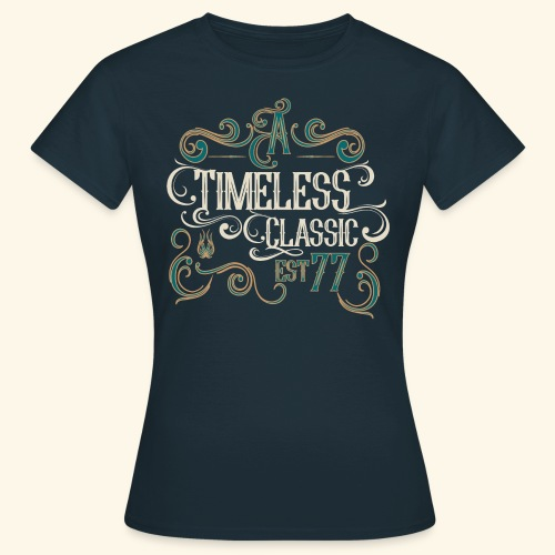 TIMELESS png - Dame-T-shirt