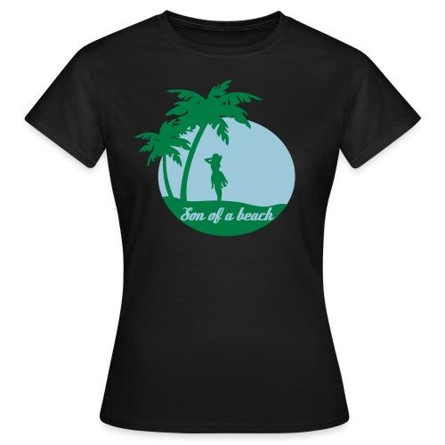 20110519 ytb shirt son blaugruen pfade - Frauen T-Shirt