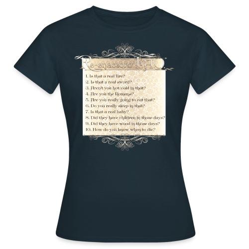 FAQ Victorian final png - Women's T-Shirt