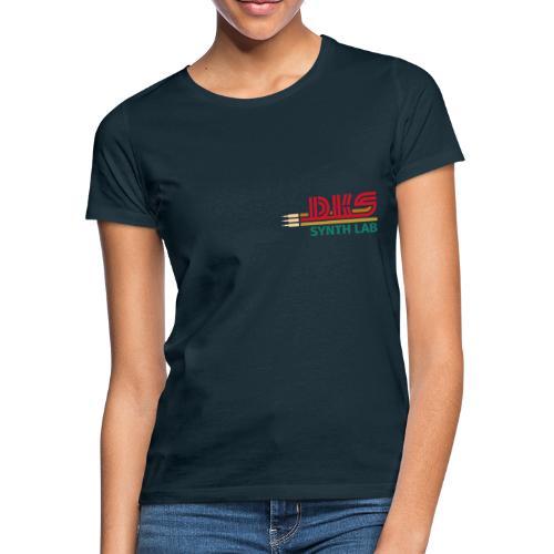 DKS SYNTH LAB Flat Red-Green - Maglietta da donna
