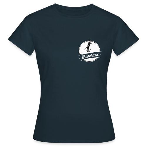 Trenchard Logo (White) - Women's T-Shirt