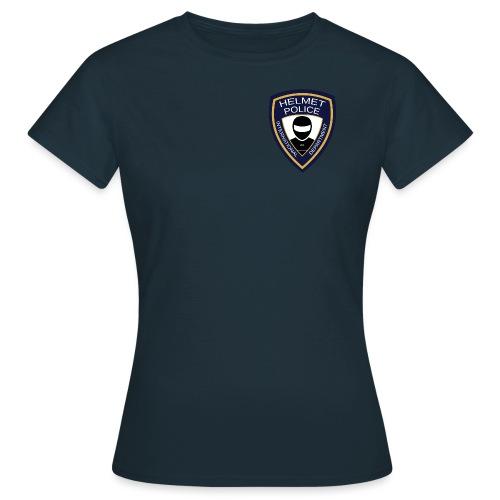 HELMET POLICE AT LAZYROLLING - Women's T-Shirt