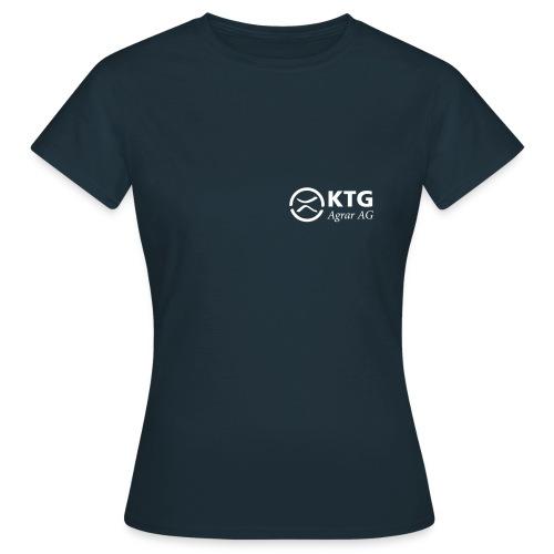 KTG Logo Weiss Vektor - Frauen T-Shirt