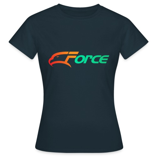 Force Orange/Green - T-shirt dam