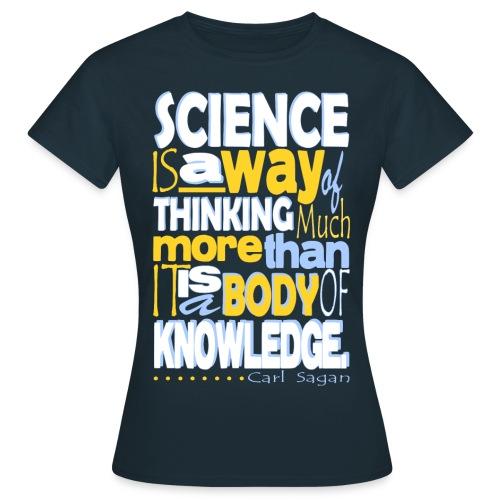 Carl Sagan Science - Women's T-Shirt