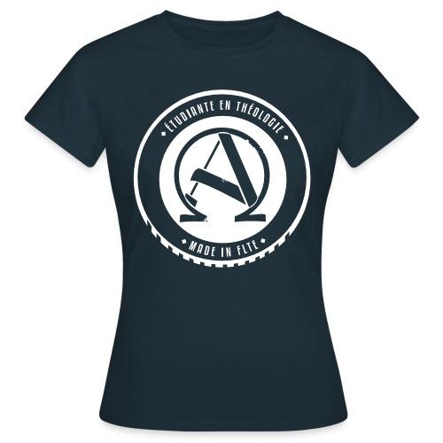 logoaoetudiantedef - T-shirt Femme
