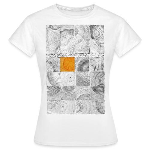 Cubes de Bois - T-shirt Femme