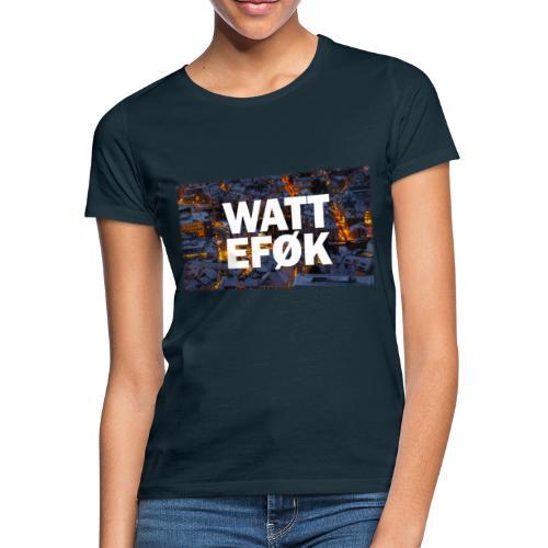WATT EFØK med smooth kant - T-skjorte for kvinner