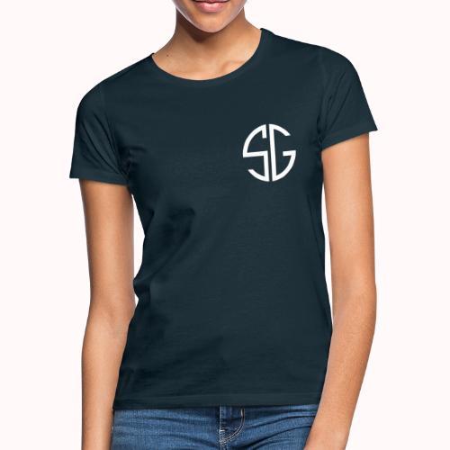 SemGamer log in wit - Vrouwen T-shirt