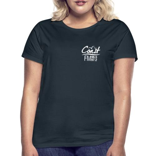 Coast FM single colour logo - Women's T-Shirt