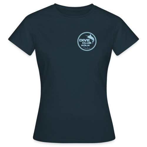 BlueMarlinDiveClub - Frauen T-Shirt