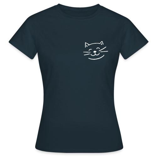 Gato Feliz - Camiseta mujer