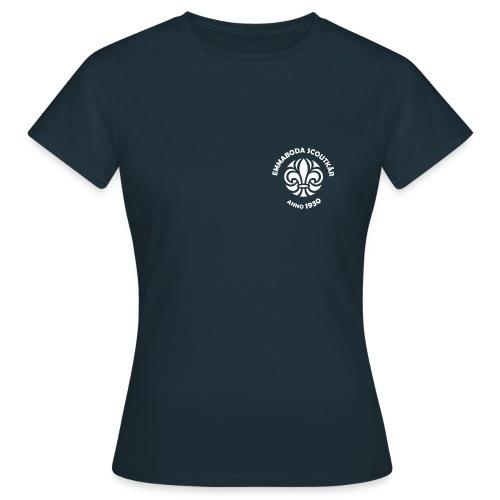 Emmabodamarke text vit png - T-shirt dam