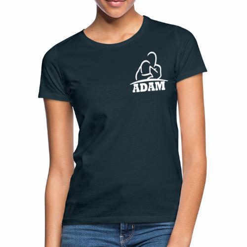 Logo Adam blanc - T-shirt Femme
