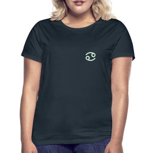 Símbolo zodiacal de Cáncer - Camiseta mujer