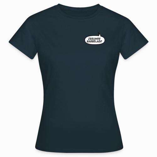 Zeeuwse Babbelaer - Lekker Zeeuws - Vrouwen T-shirt
