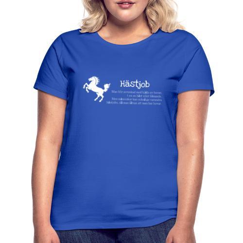Hästjob - T-shirt dam