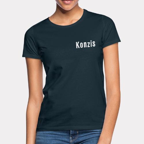 Konzis Font - Frauen T-Shirt