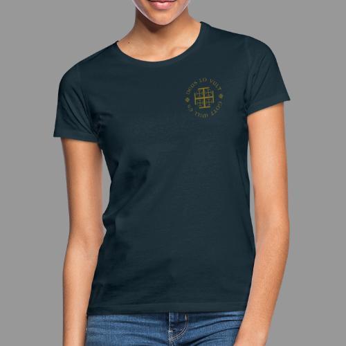 deus lo vult - Gott will es - Frauen T-Shirt
