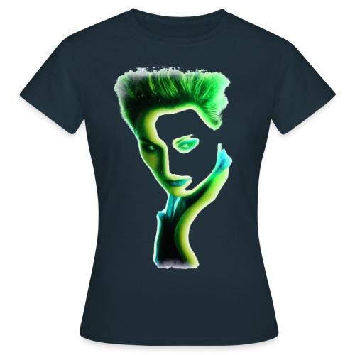 girl_grün.png - Frauen T-Shirt