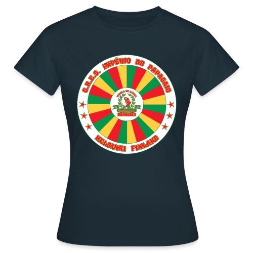 Papagaio drum logo - Naisten t-paita
