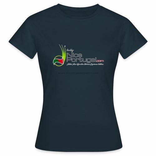 NicePortugal.com Logo - Maglietta da donna