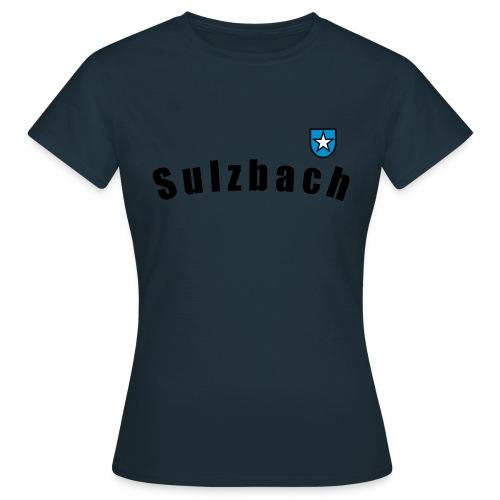 wappensulzbach schwarz - Frauen T-Shirt