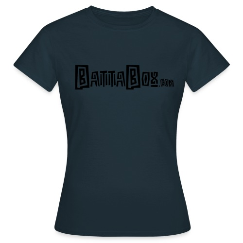 battaboxblack png - Women's T-Shirt