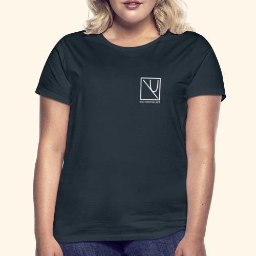 Logo med Tekst - T-skjorte for kvinner