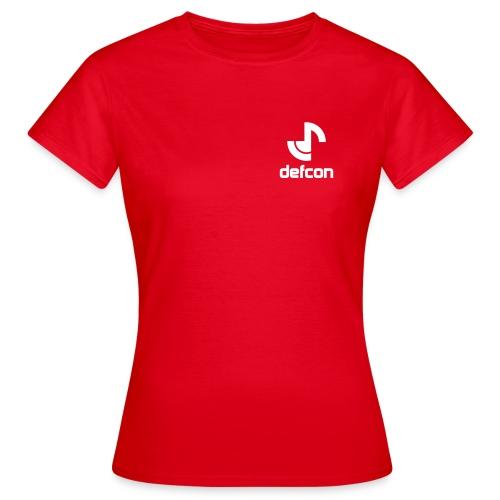 defcon logo and text vector2 - Women's T-Shirt