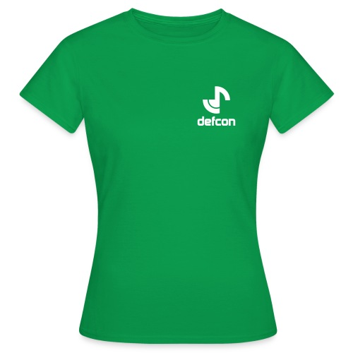defcon logo and text vector2 - Women's T-Shirt