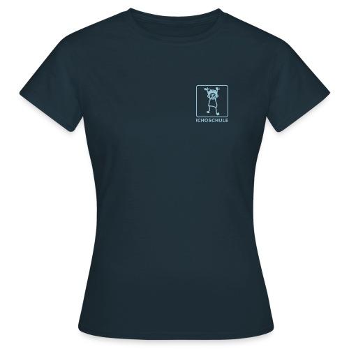 icho daslogo klein unterschrift - Frauen T-Shirt