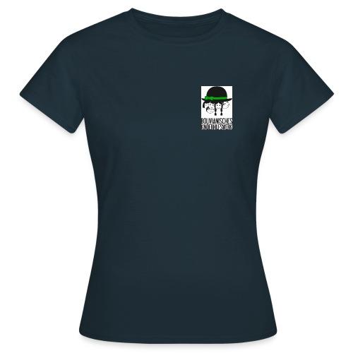 bkhw logo 4c gross - Frauen T-Shirt