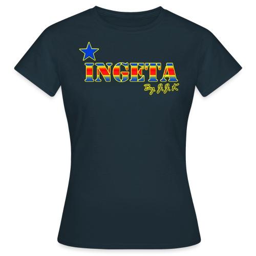 jaune ingeta kongo png - T-shirt Femme