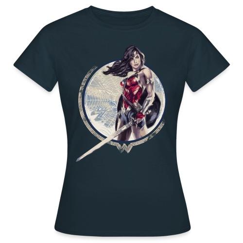 Wonder Woman Schwert Und Schild - Frauen T-Shirt