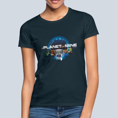 logo planetofmine tshirt png - T-shirt Femme