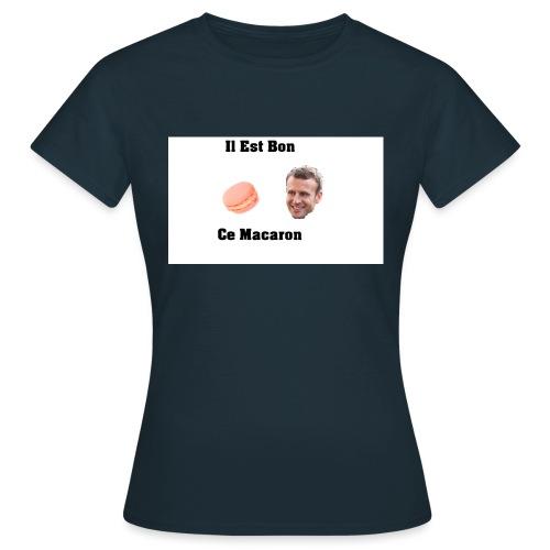 Il est bon ce Macaron - T-shirt Femme