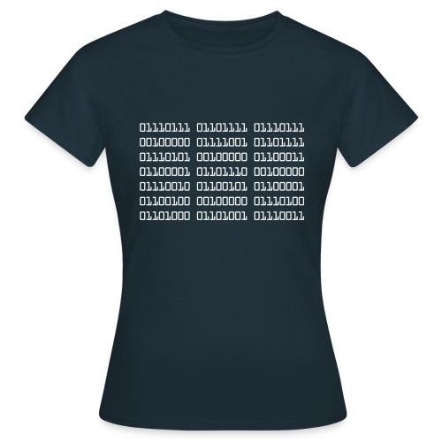 Wow Binary - Women's T-Shirt