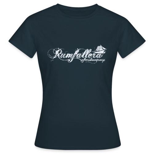 rumfallera2222hellblau png - Frauen T-Shirt