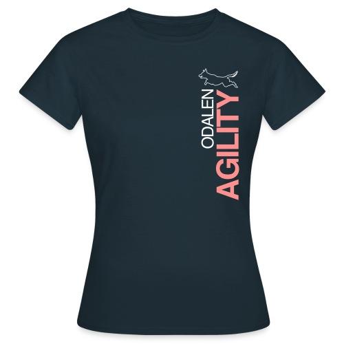 odalen agility blue1 - Women's T-Shirt