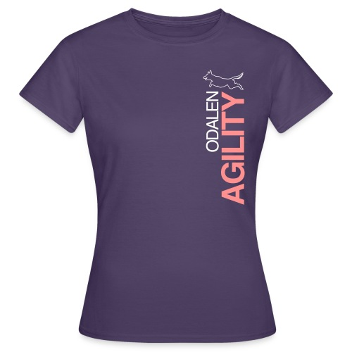 odalen agility blue1 - Women's T-Shirt