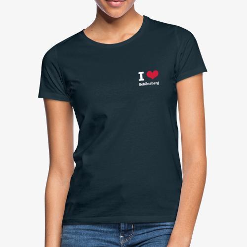 I love Schöneberg - Frauen T-Shirt