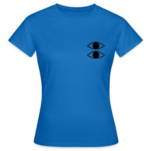 Double Eyes - T-skjorte for kvinner