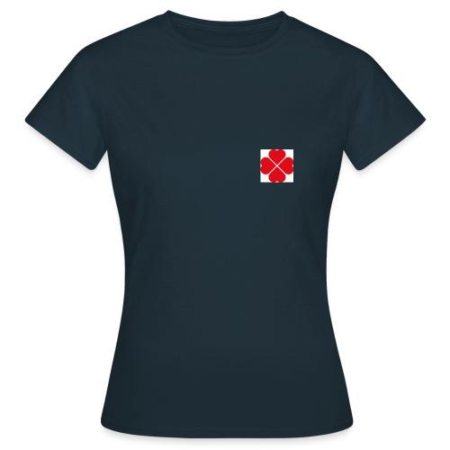 LoveHeartCloverLeaves - Women's T-Shirt