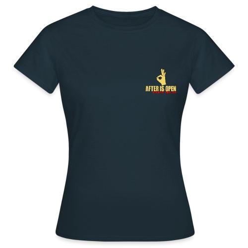 A F T E R i s O P E N Die Urbex Gang - Frauen T-Shirt