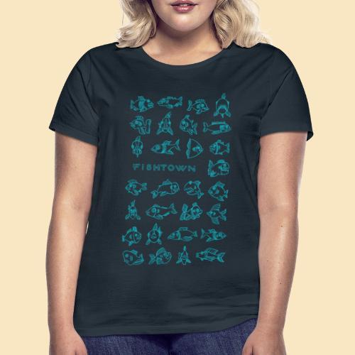 Fishtown Schwarm - Frauen T-Shirt