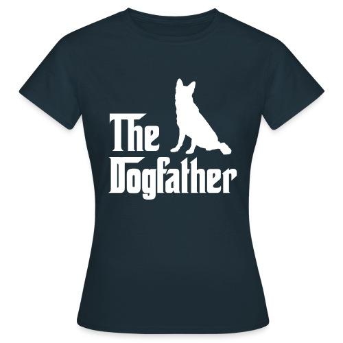Dogfather Schäferhund weiss - Frauen T-Shirt