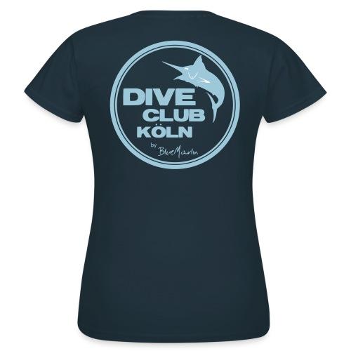 BlueMarlin - DiveClub Köln - Frauen T-Shirt
